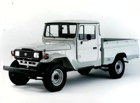 Pick-up Toyota Bandeirante