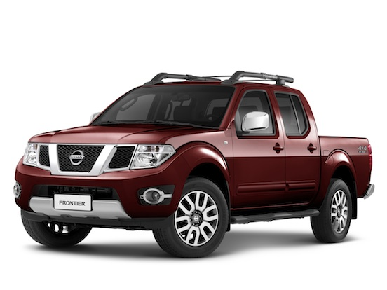 Pick Up Nissan Frontier Adota Visual Da S 233 Rie Especial Quot 10