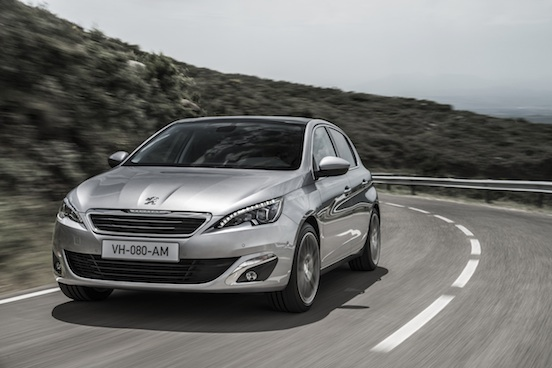 Novo Peugeot 308 carro hatch