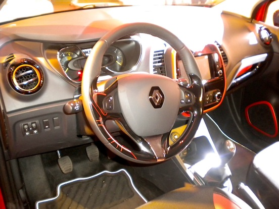 Fotos Interior Renault Captur