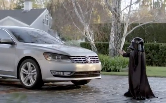 Commercial The Force - Darth Vader - VW Passat