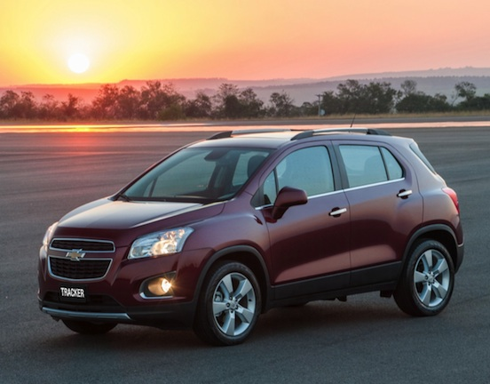Fotos Novo SUV GM Chevrolet Tracker 2014