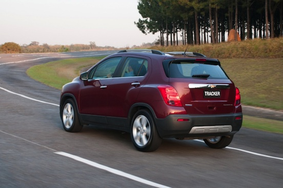 Fotos Novo SUV GM Tracker - Chevrolet