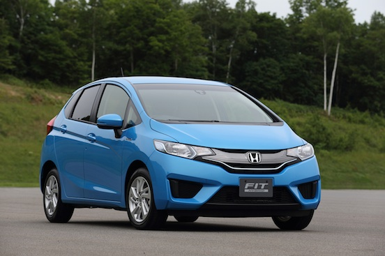 Novo Honda New Fit 2014