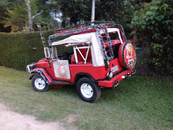 Carro do Papai Noel Off-road