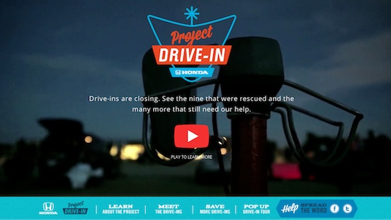 Honda Project Drive-in USA