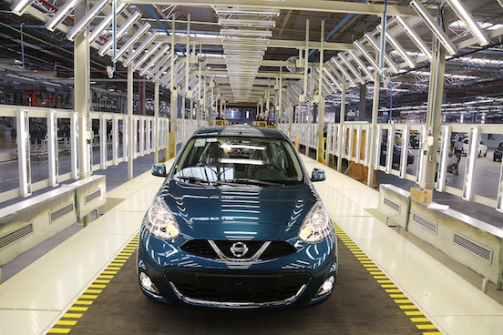 Foto novo Nissan New March 2015