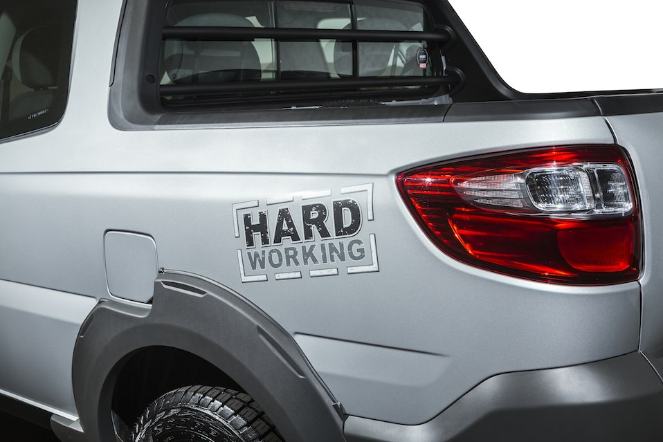 Fiat Strada 2015 serie Hard Working
