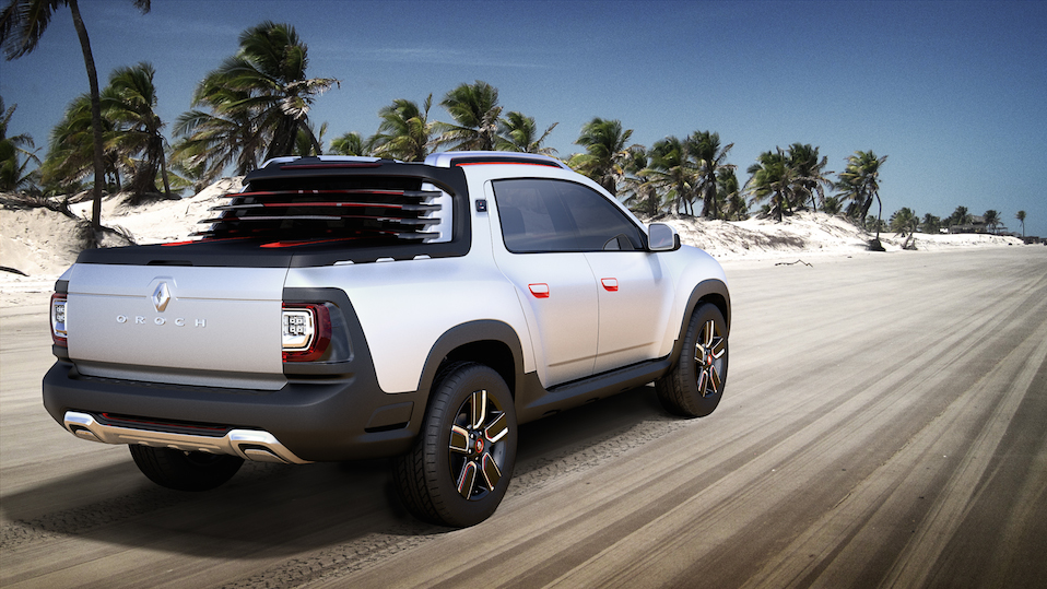 Carro conceito Renault Duster pick-up Salao Do Automovel Oroch