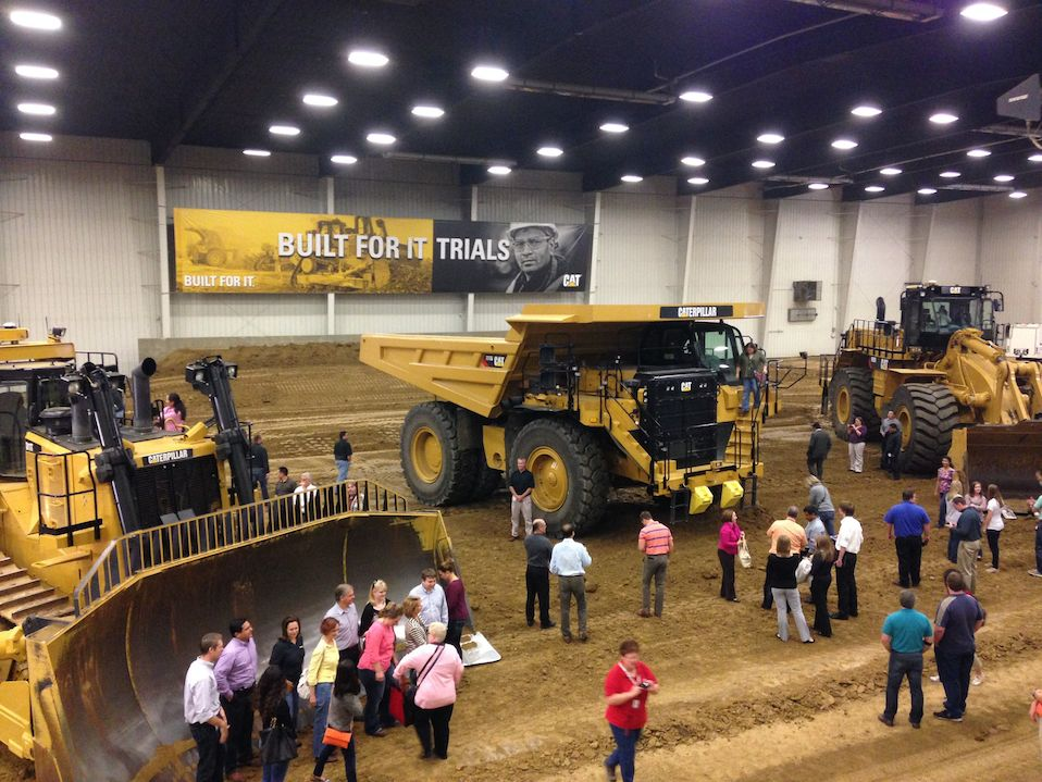 Caterpillar Demonstration Center in Peoria
