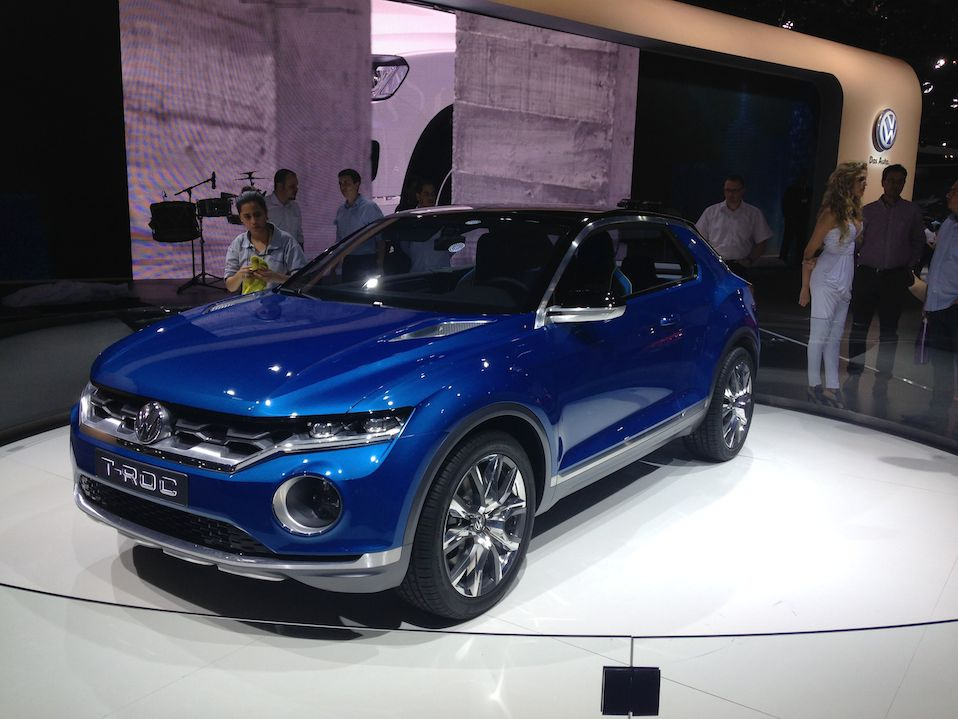 VW T-Roc: estudo de design de um SUV sobre a plataforma do novo Golf.