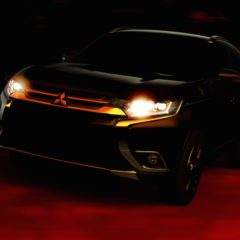 Teaser do novo Mitsubishi Outlander
